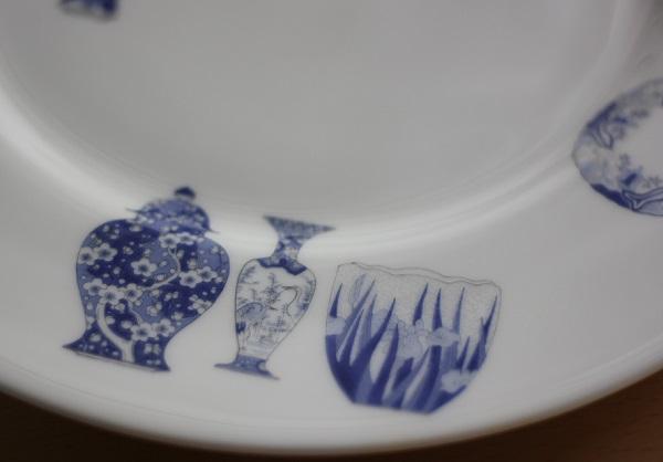 深川製磁のお皿の写真