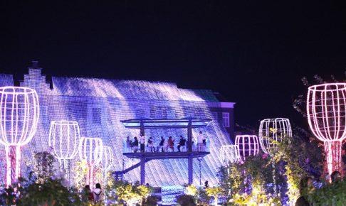 ハウステンボスの光の天空カフェ