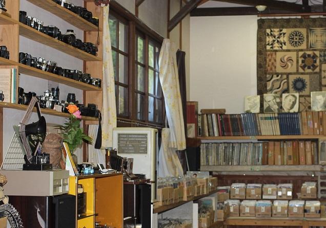 音浴博物館のカメラ展示の写真