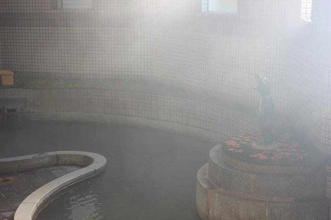 雲仙の温泉の写真