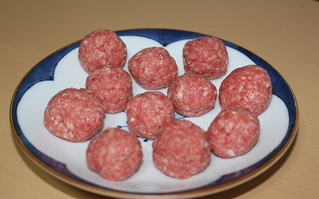 肉団子の写真