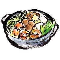 ちゃんこ鍋のイラスト