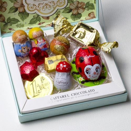 チョコレートのギフトセットの写真