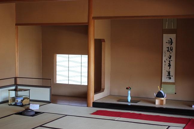 海月の茶室の写真