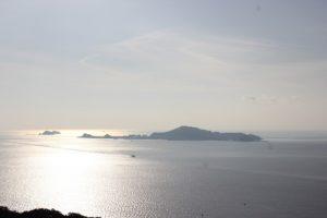 香焼公園から見える海の風景