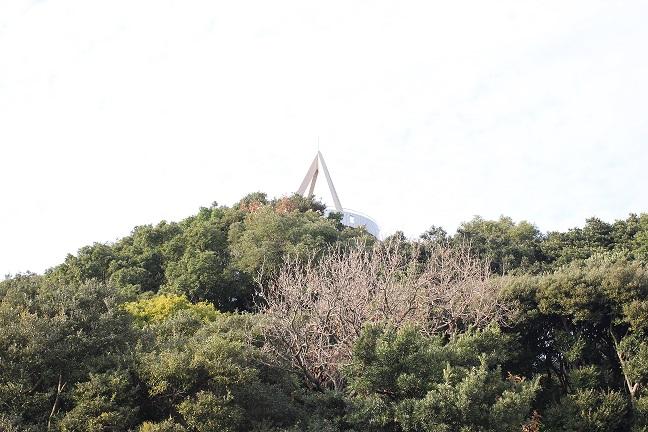 香焼公園の展望台
