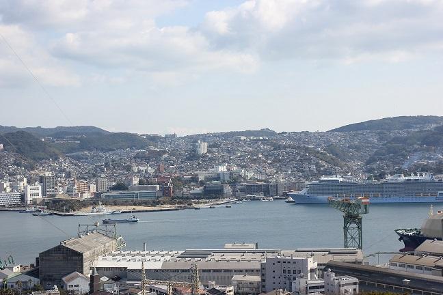 長崎の港の写真
