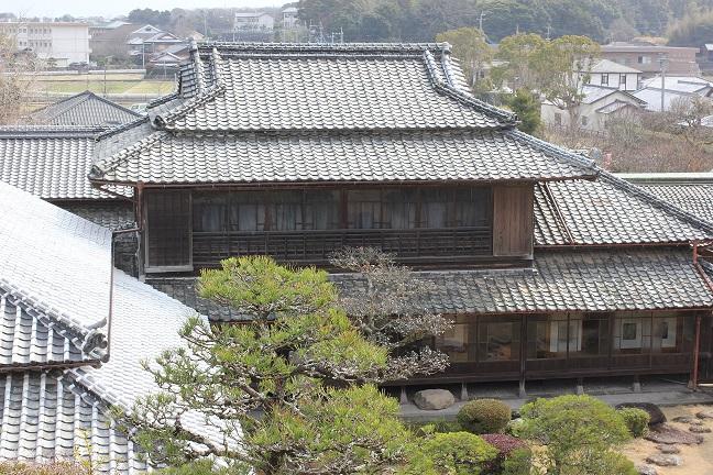 鍋島邸の外観の写真