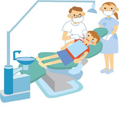 歯医者さんのイラスト