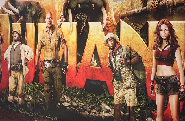 ジュマンジ/ウェルカム・トゥ・ジャングルのポスターの写真