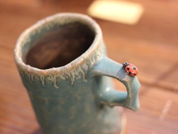 桜陶祭、波佐見焼のカップ