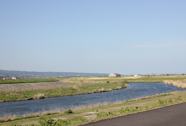 本明川の風景写真