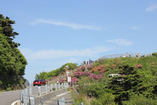 仁田峠第二展望所の写真