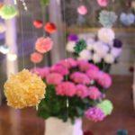 ハウステンボス、紫陽花のふわふわボールの部屋の写真