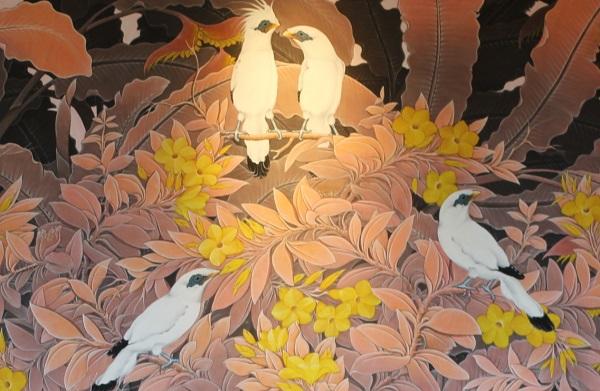 インダインダの壁の絵の写真