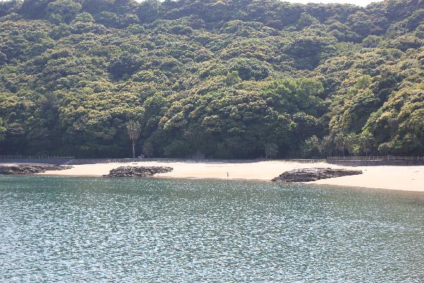 大釜海水浴場の風景写真