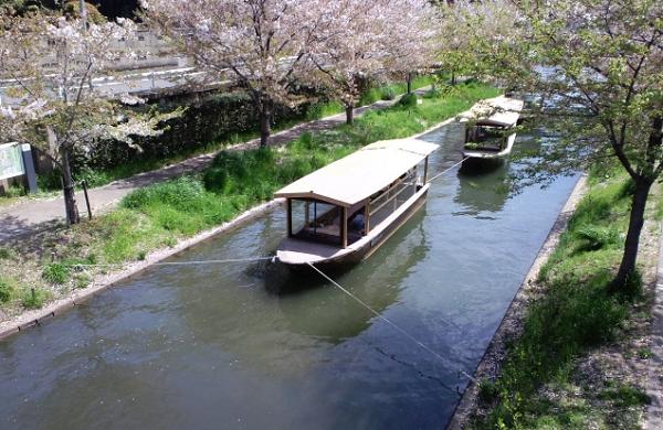 十石舟の写真