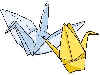 折鶴のイラスト