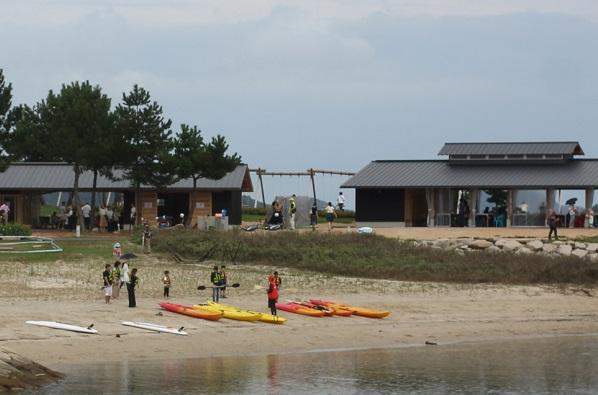カヌー体験の様子の写真