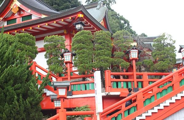 太皷谷稲成神社の写真