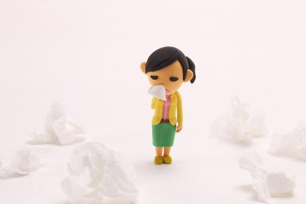 鼻づまりのイメージイラスト