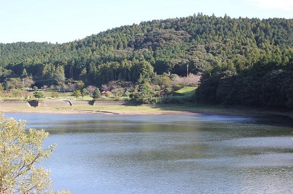 野岳湖の風景写真