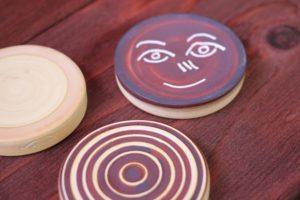ハマで作った陶芸作品の写真