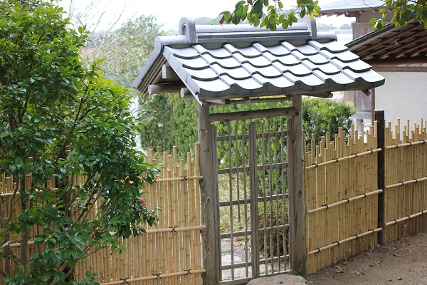 游椿亭、淡月の入り口の写真