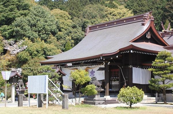 橘神社の本堂の写真
