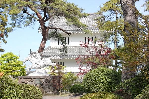 島原城の西望記念館の写真