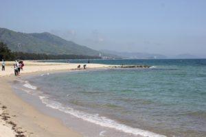 虹ノ松原の美しい海岸の写真