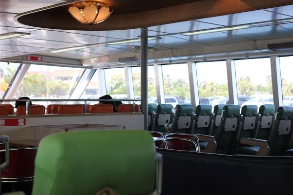 俊寛の船内の様子の写真