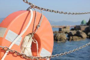 高島の磯釣り公園内の写真