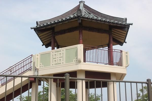 神の島公園の展望台の外観写真