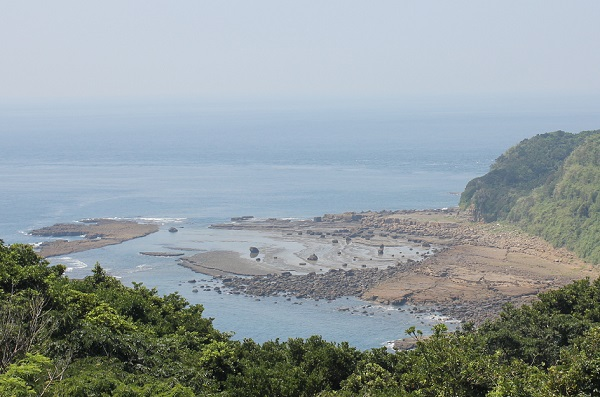 美しい御床島の海岸の写真