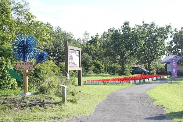ヒコダイ公園の入り口の写真