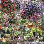 松江フォーゲルパークの花園の写真