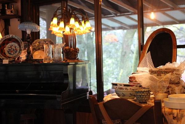 湧き水カフェ 風水庵の店内の写真