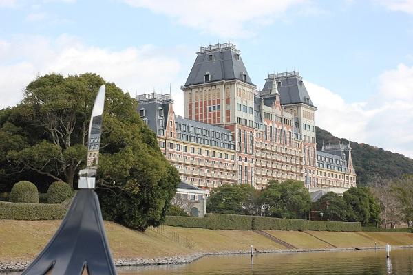 ハウステンボスの「ゴンドラ遊覧」からの景色、ホテルオークラJRハウステンボスの写真