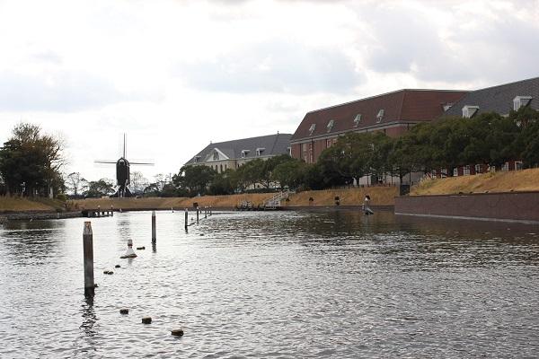 ハウステンボスの「ゴンドラ遊覧」からの景色写真