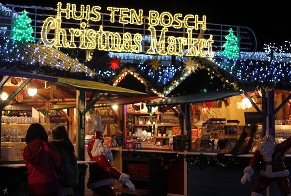 ハウスンボス、クリスマスマーケットの入り口の写真