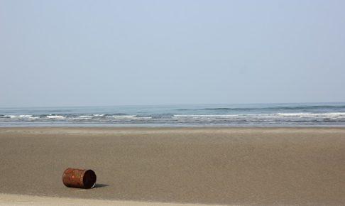 吹上浜海岸砂丘、海と浜の写真
