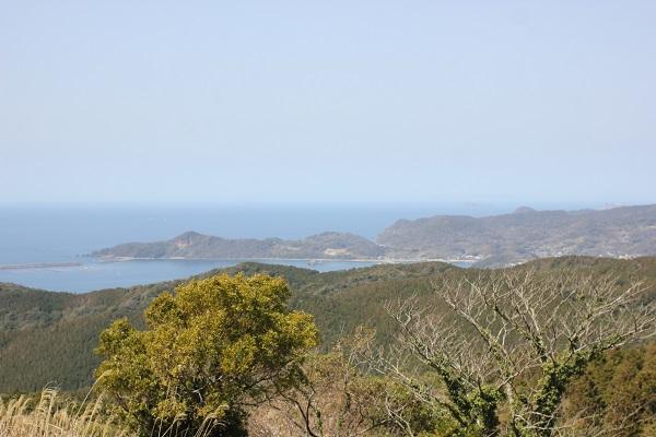 あぐりの丘、里山から望んだ景色の写真