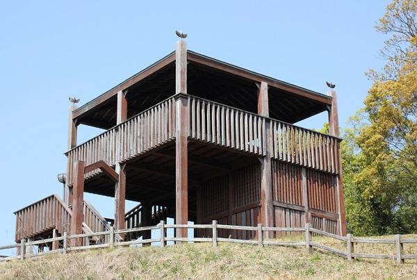 崎野自然公園、展望台の外観写真