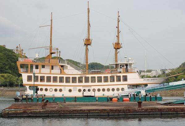 遊覧船、パールクィーンの写真