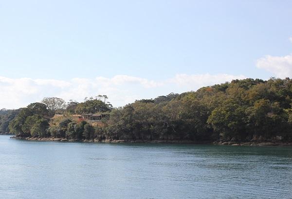 長尾半島の写真