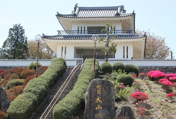 肥前犬山城の写真