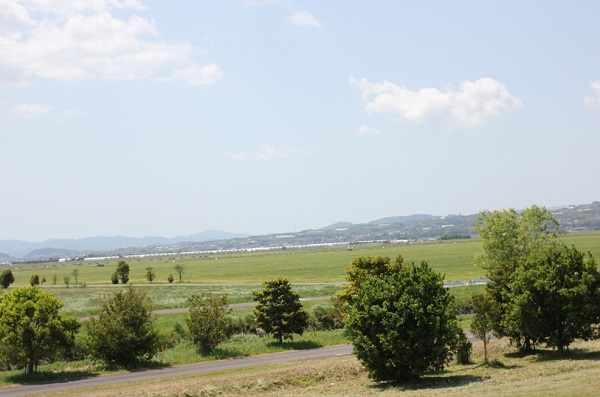 諫早湾干拓地の壮大な景色の写真