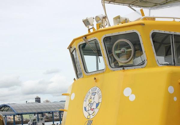 港に停泊してるシーガルの写真