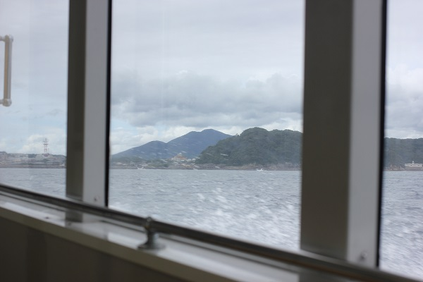 シーガル 窓からの景色と波しぶき